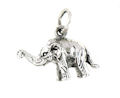 sterling silver elephant pendant ELP7063599