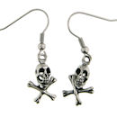 stainless steel skull earrings ERC1004