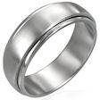 stainless steel spinner ring FNS007