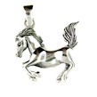 sterling silver horse necklace HNL7062600