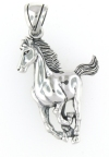 sterling silver horse pendant HP184