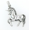 sterling silver horse pendant HP187