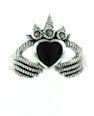 sterling silver claddagh rings MARR2154