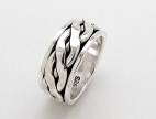 sterling silver spinner rings AR0036