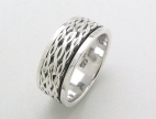 sterling silver spinner rings AR0040