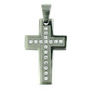 stainless steel cross pendant PDJ91018