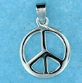 Peace Sign Pendant Necklaces
