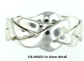 Model PR323 Puzzle Ring Enlarged