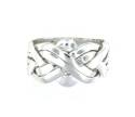 Silver Puzzle Rings