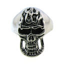 Stainless Steel skull ring SCR2016
