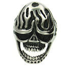 Stainless Steel skull ring SCR3034