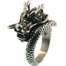 Stainless Steel skull ring SCR3046