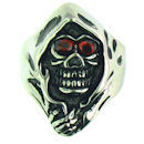 Stainless Steel skull ring SCR3054