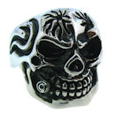 Stainless Steel skull ring SRC2003