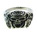 Stainless Steel skull ring SRC2012