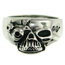 Stainless Steel skull ring SRC2015