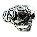 Stainless Steel skull ring SRC2019