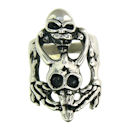 Stainless Steel skull ring SRC2042