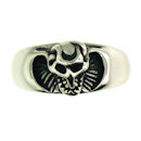 Stainless Steel skull ring SRC2045