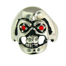Stainless Steel skull ring SRC2046
