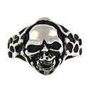Stainless Steel skull ring SRC2051