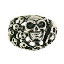 Stainless Steel skull ring SRC2058