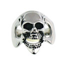 Stainless Steel skull ring SRC2059