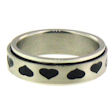 stainless steel spinner ring SRJ2246