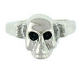Stainless Steel skull ring SRJ2276
