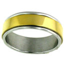 stainless steel spinner ring SRJ2451