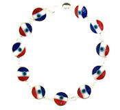 Evil Eye Bracelet EEB041 USA Flag