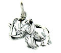 sterling silver elephant pendant WEP0649