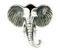 sterling silver elephant ring WER63