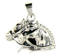 sterling silver horse pendant WHP01068 width=