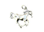 sterling silver horse pendant WLPD364