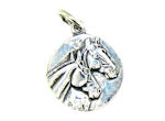 sterling silver horse pendant WLPD536