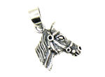 sterling silver horse pendant WLPD693
