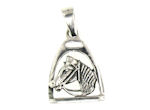 sterling silver horse pendant WLPD721