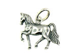 sterling silver horse pendant WLPD827