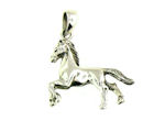 sterling silver horse pendant WLPD99
