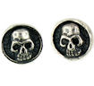 sterling silver skull earrings WSE1116