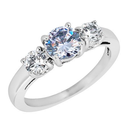 ZRJ4149 June CZ Birthstone Ring