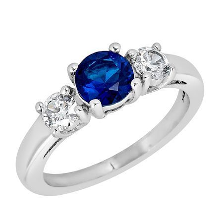 ZRJ4153 September CZ Birthstone Ring